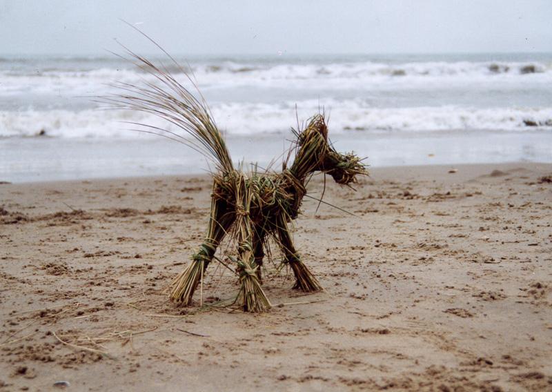 'Grass dog' 2002