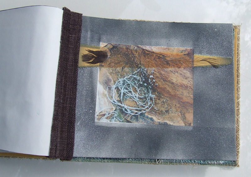Artists book. 'The Outback collection' 29.5cm x 23.5cm x 8cm 2005
