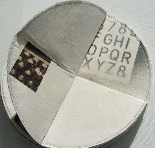 Artists book. 'Type and Error' 27.5cm x 16.5cm x 12.5cm 2005