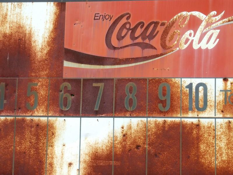 Coca cola scoreboard