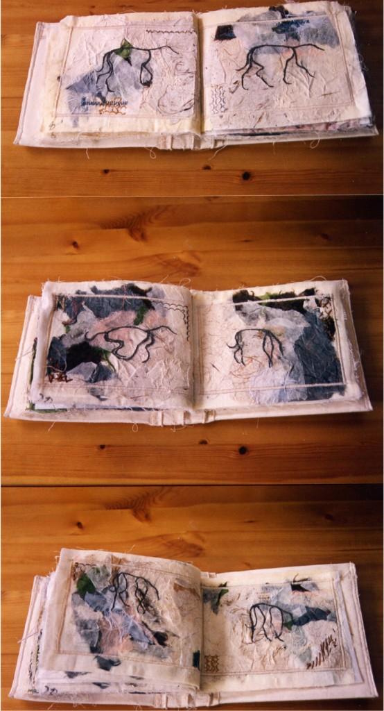 Artists book. 'Follow that dog'