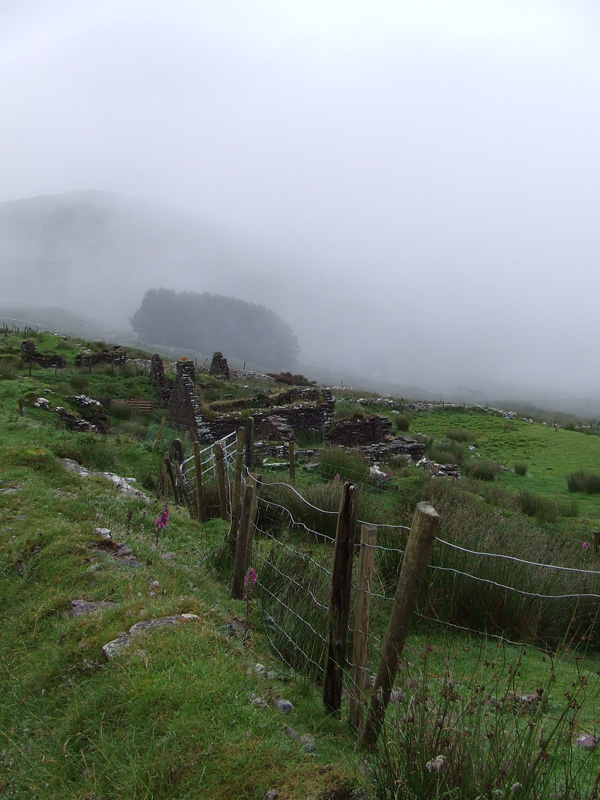 Foggy day Ballinskelligs