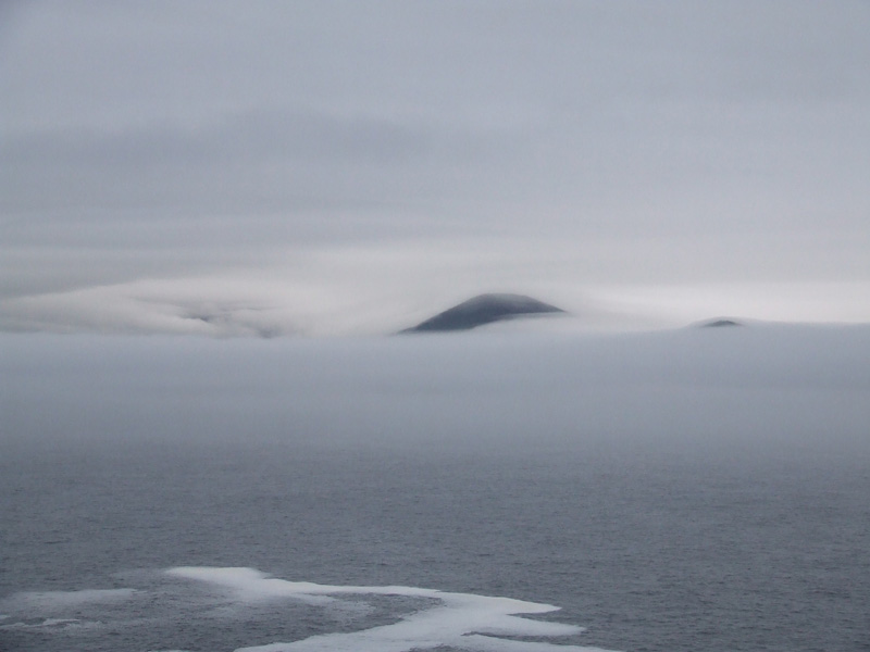 Islands lost in the fog