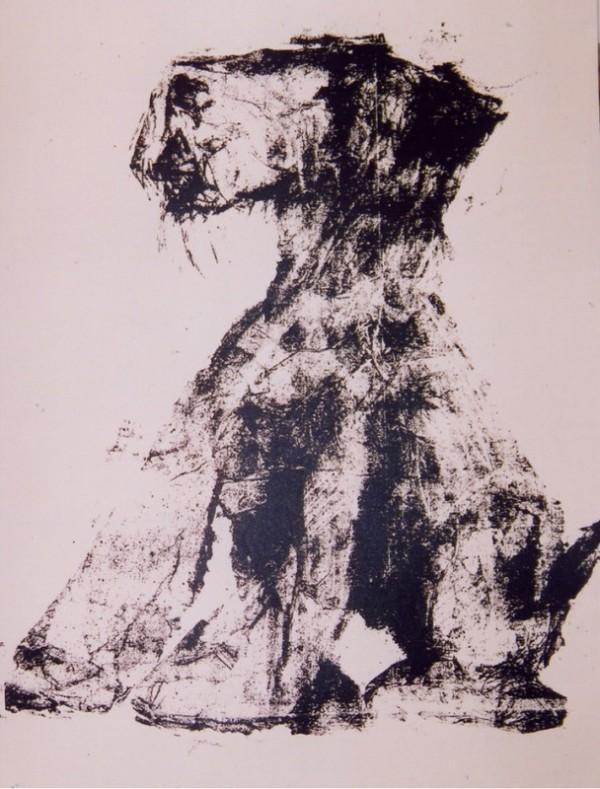 Fox terrier, Screenprint